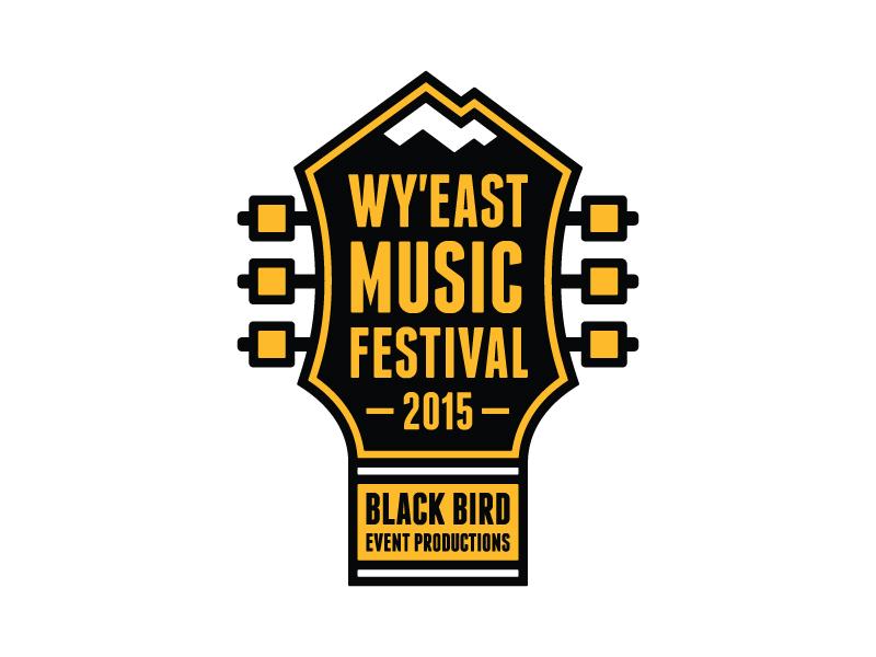 Wy'East Music Festival wyeast music festival sandy oregon mt hood guitar logo