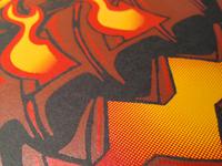 Headless Biker - Artcrank Poster Closeup