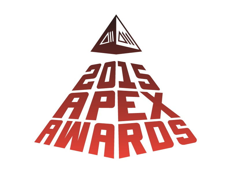 Polartec Apex Awards 2015 friedrichshafen outdoor retailer apex awards polartec custom type typography logo