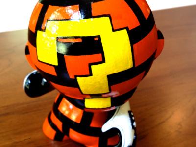 Rockhart Munny rockhart munny vinyl toy nes power glove