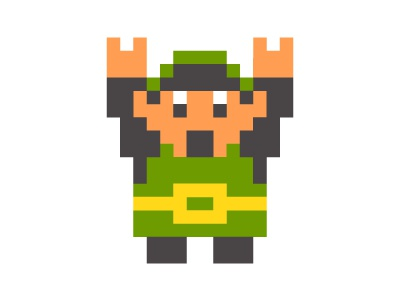 TGIF zelda rockhart pixel video game