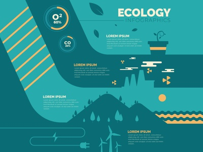 Ecology infographic new free vector flat icon freepik infographic icon green logo green global warming globalwarming ecology infographic ecology design branding app