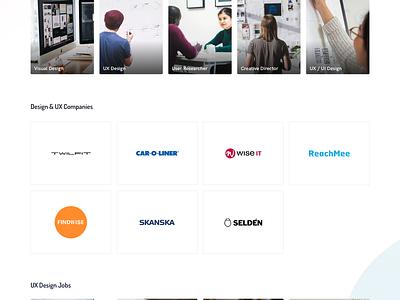 Uptrail Homepage job board web job app minimal advertisment ad ux ui job
