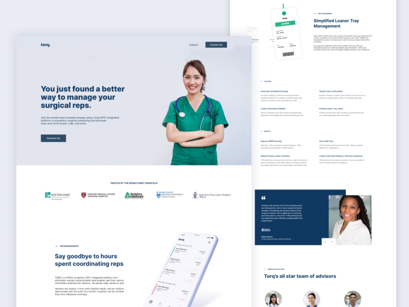 Homepage ux uiux saas minimal webdesign healthcare app product design health app healthcare clean web ui