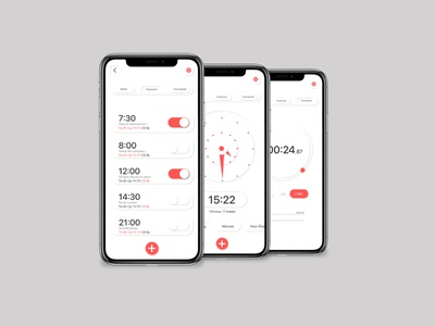 Watch app design for IOS