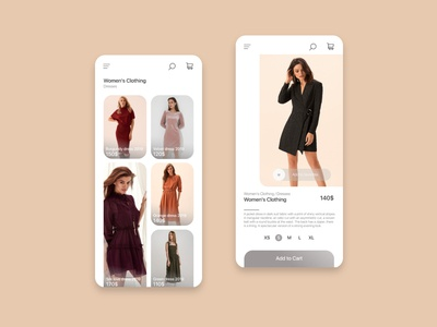 App design for clothing store