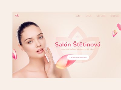 Beauty saloon clean pink care health spa cosmetics