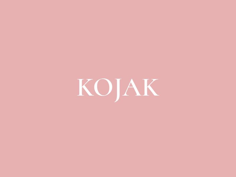 Kojak Studio design fashion brand logo