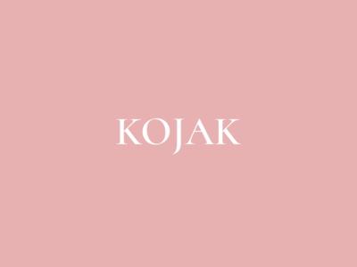 Kojak Studio design fashion brand logo