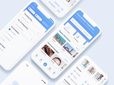 Balsamee medical medical app medical care treatment hospital design web ux ui health care health