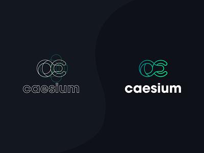 Caesium dark mode inspo inspiration app logo design app logo logo design corporate identity branding flat vector graphic design design illustrator logo