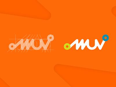 MMUV logodesign logo mark symbol adobe illustrator logo maker micro-mobility design corporate identity logo flat vector logo creation logo mark logo design
