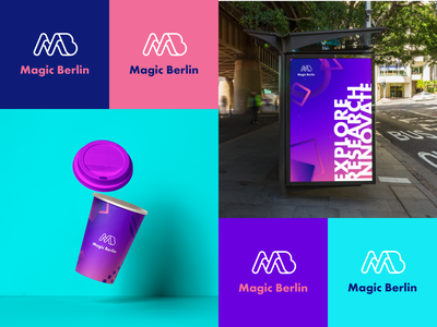 Magic Berlin berlin design studio branding and identity identity branding design color palette colorful graphic design logo design branding design brand design corporate identity branding brand identity
