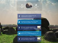 Social Hub - Main Stream Page