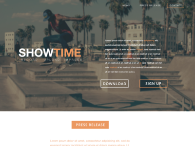 Show Time Web Design
