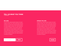 Internet Protection Website Concept - Footer