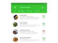 Recipe Android App