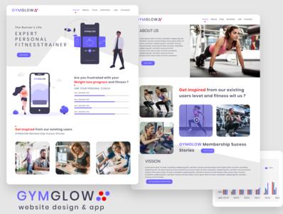 Fitness/Health/GYM website Design
