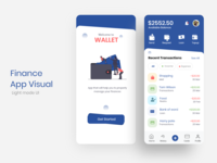 Wallet App Visual