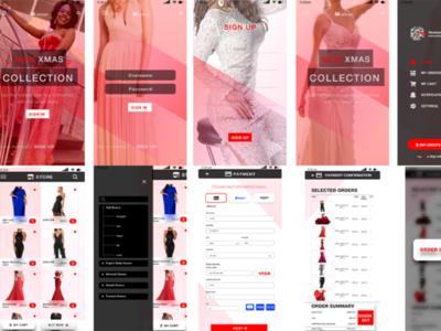 Clothing App UI Design