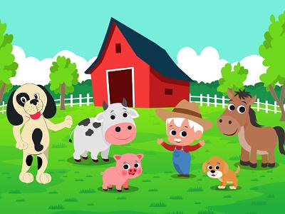 Illustration book design rhyme kids illustration illustration