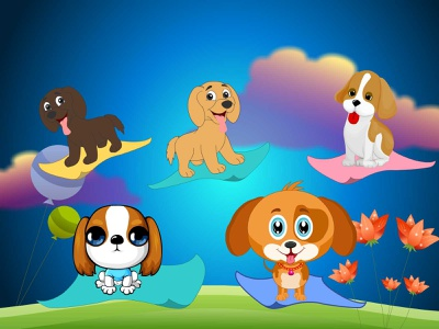 Animal Illustration animal illustration rhyme graphic design vector illustration