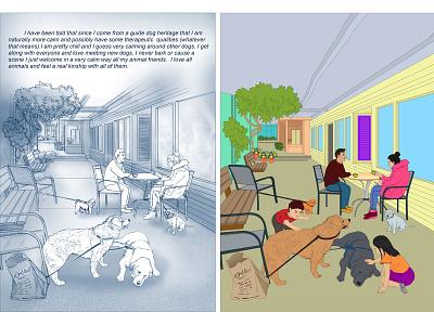 Illustration children book illustration book cover cover design art background design character design color filling sketches graphic design illustration vector