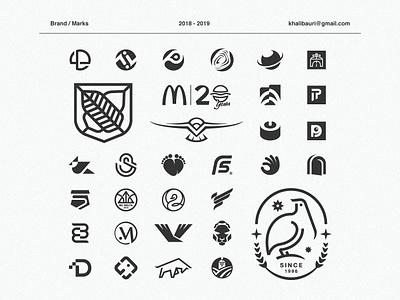Logofolio eagle negativespace monochromatic monogram symbol creative logos logoforsale logofolio logo designer system branding identity letters trademark mark logolounge logos collection book