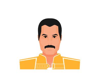 Freddie Mercury vector