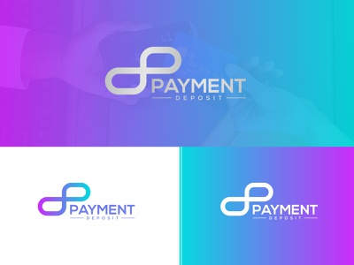 PAYMENT DEPOSIT | MODERN LOGO dp logo excellent logo combination logo iconic logo typography branding fresh letter design company logo business logo minimalist logo abstact text logo transparency modern logo colorful gredient initial letter logo money