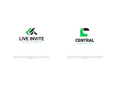 Initial letter based logo lit lc adobe illustraion vector webdesign website ux ui design art typographic letter fresh brand identity brand creative logotype logodesign logo