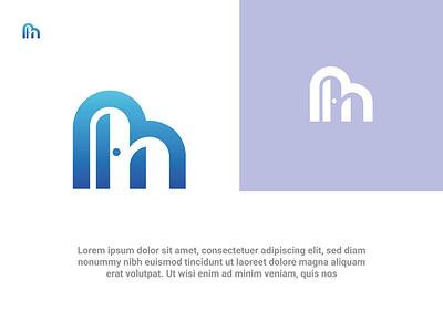 Modern M N door concept lettermark mn logo m n letter door animation ui graphic design 3d motion graphics fresh colorful logodesign design logo illustration icon branding gredient vector modern