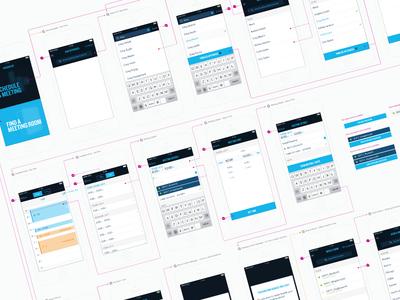 Scheduler iOS8 Flow ios app ios8 ui mobile clean flow spec ux
