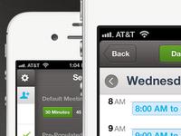 Scheduler App UI