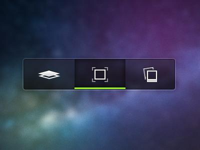 "Code name ""Galileo"" ui mobile tablet tool icons tool bar clean"