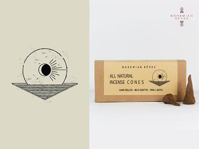 Packaging Illustration & logo design logomark logo witchy all natural holistic illustration art packaging illustration packaging design