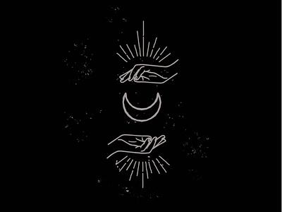 Logomark Variation icon design witchy vector illustration design edgy logo logo design branding design