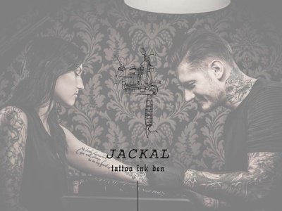ackal Tattoo Shop - Rock and Roll, Goth Branding rocknroll rock and roll website website concept website design web design logo illustration logodesign logotype logo design hand lettering handmade hand drawn letterpress typography courier edgy logo edgy goth gothic