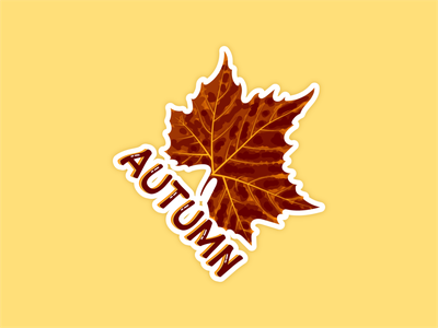 Weekly Warm-up | Badge Inspired by Favorite Season daily dribbble branding badge warm-up weekly illustrator design vector illustration graphicdesign