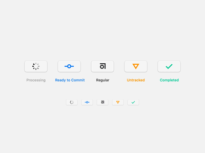 Abstract Sketch Plugin Concept commit control versions git interace icon plugin sketch mac app mac abstact