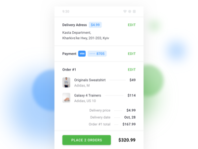 Kasta Android Checkout