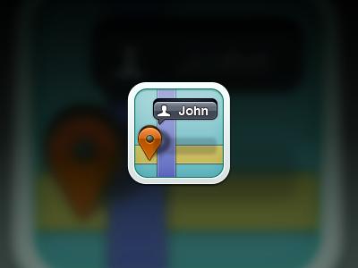 friendfinder app icon - client iphone icon ios 4 ipod touch mothafockersuckercocker