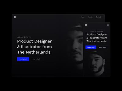 Kubilay.me 2020 Portfolio kubilay responsive 2020 design art portfolio