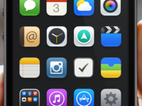iOS 7 Theme / Redesign.
