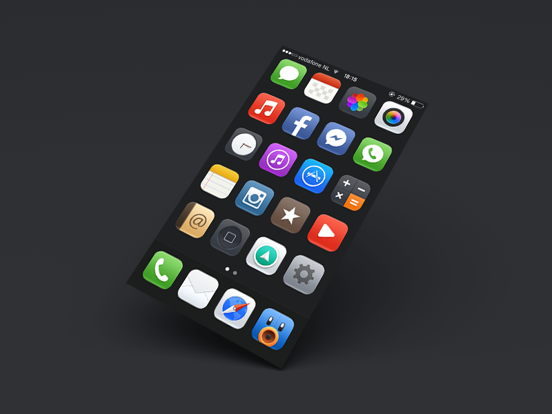 Mojo for iOS 7 - Now available by Kubilay Sapayer on Dribbble