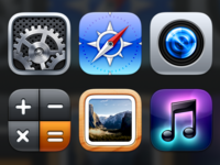 iOS icons - Old Work