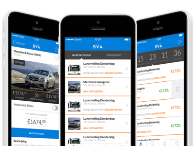 BVA-Auctions ios icon ui interface 8 flat