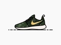 Nike Roshe Run Camo