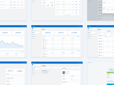 Cryptocurrency Dashboard UI