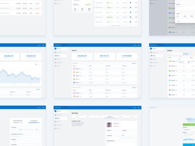 Cryptocurrency Dashboard UI ui dashboard cryptocurrency